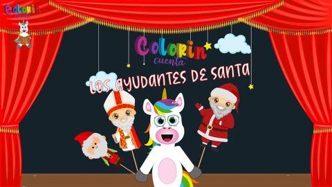 Los ayudantes de Santa Claus - Duendes, Santa y San Nicolas