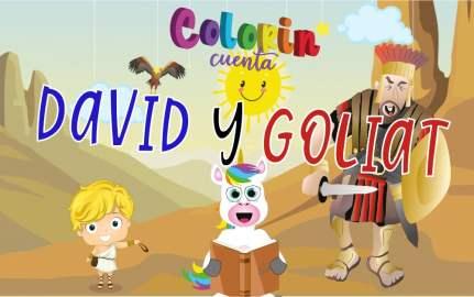 Cuentos de la Biblia para niños - David y Goliat para niños - Cuento para niños