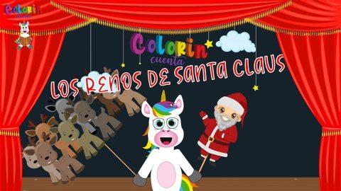 Cuento de los renos de Santa Claus