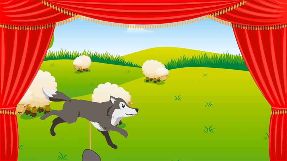El pastorcito que gritó lobo