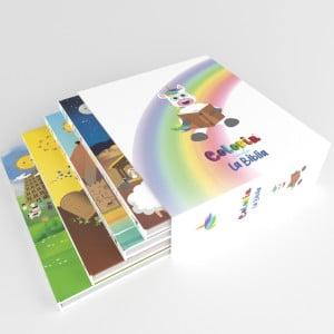 Set Colorin Cuenta la Biblia - Cuentos de la Biblia para niños