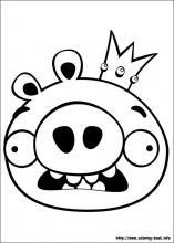 coloring pages angry birds # 9