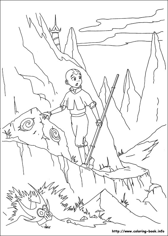 avatar coloring pages - photo#30