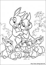 Disney Bunnies Coloring Pages On Coloring Book Info