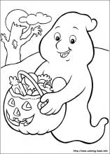coloring halloween pages # 41