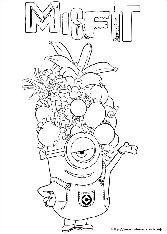 Minions Coloring Pages On Coloring Book Info