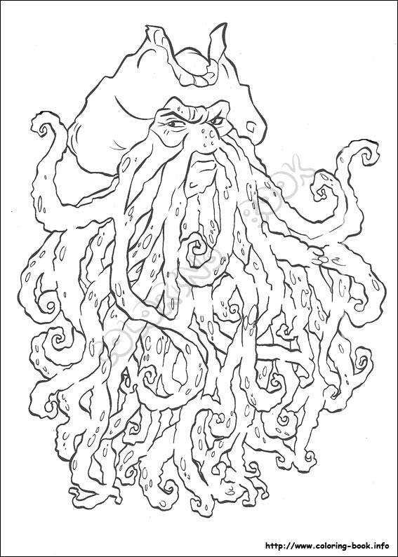 pirates of the caribbean coloring pages # 9
