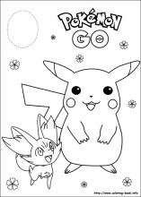 pokemon coloring pages # 16