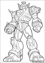 power rangers coloring page # 8