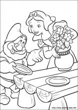 Snow White Coloring Pages On Coloring Book Info