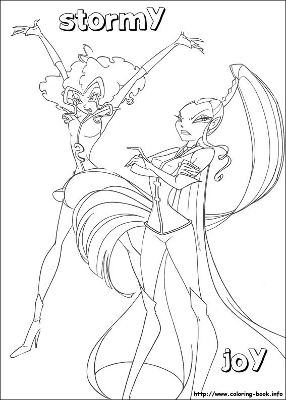 winx club christmas coloring pages | Free Winx Club Printables, Downloads, and Coloring Pages ...