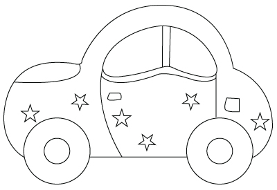 Preschool Coloring Sheets: Cars Coloring Pages Printable