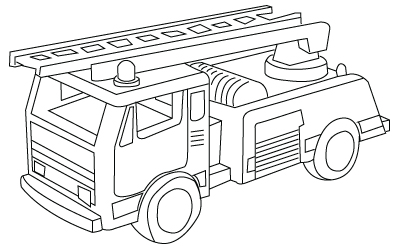 FIRE TRUCK COLORING SHEETS « Free Coloring Pages