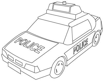 Preschool Coloring Sheets: Simple Carseasy Coloring Cars