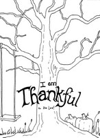 Anti Stress Coloring Pages Thanksgiving