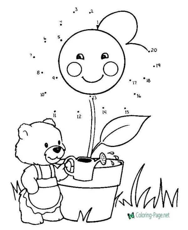 connect the dots coloring pages # 3