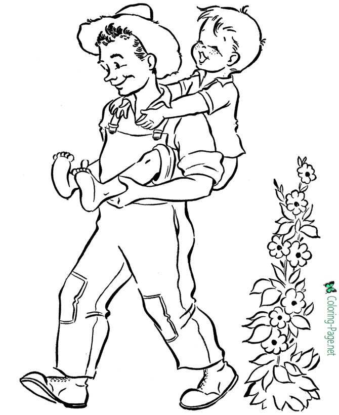 Grandparent Coloring Pages For Grandparents Day
