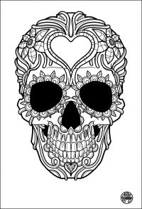 Tattoos - Coloring pages for adults : coloring-adult ...