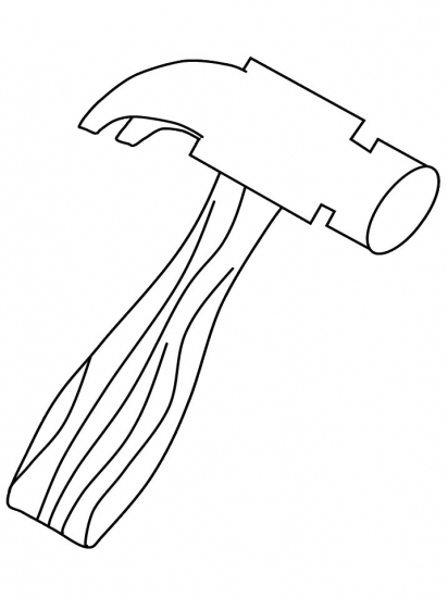 Www Coloring Picture Of A Hammer Coloring Pages