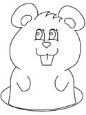 Gophers and Prairie Dogs Coloring Pages