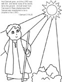 Hannah & Samuel Coloring Pages