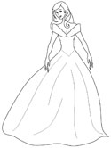 Beautiful Ladies Coloring Pages