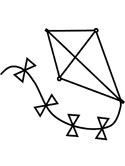 Kite Coloring Pages