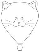 hot air balloon coloring pages # 51