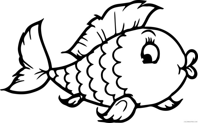 fish coloring pages for preschoolers Coloring30free - Coloring30Free.com