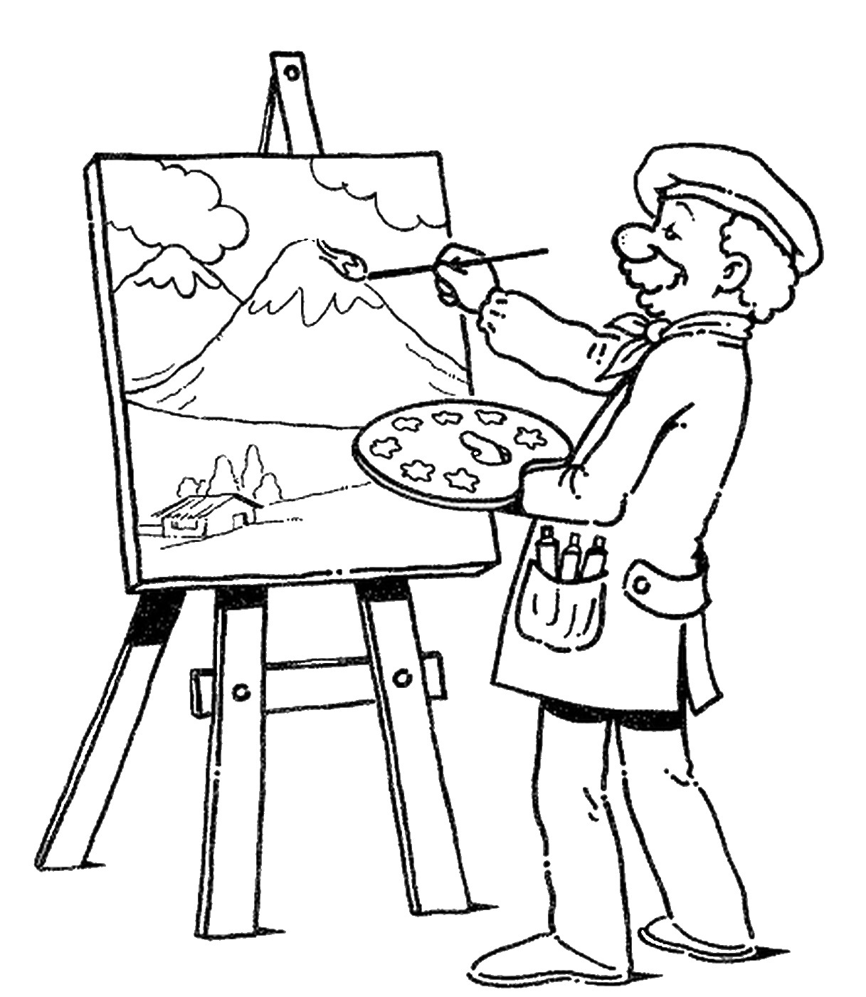 Occupation Coloring Pages Coloring Pages