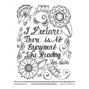 Complimentary Coloring Pages for Educators, Librarians and