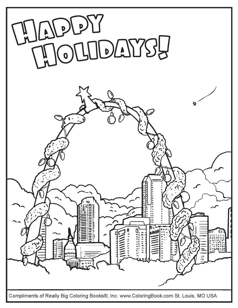coloring pages | free online coloring pages-happy holidays
