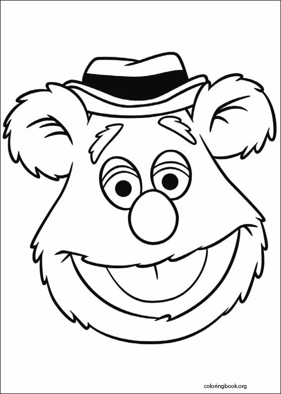 The Muppets Coloring Page 002 Coloringbook Org
