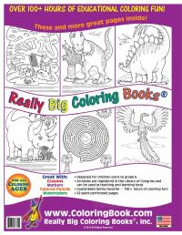Coloring Book Publishers | Dinosaurs Big Coloring Book