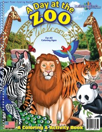 Coloring Book Publishers | Zoo Animals Coloring Book