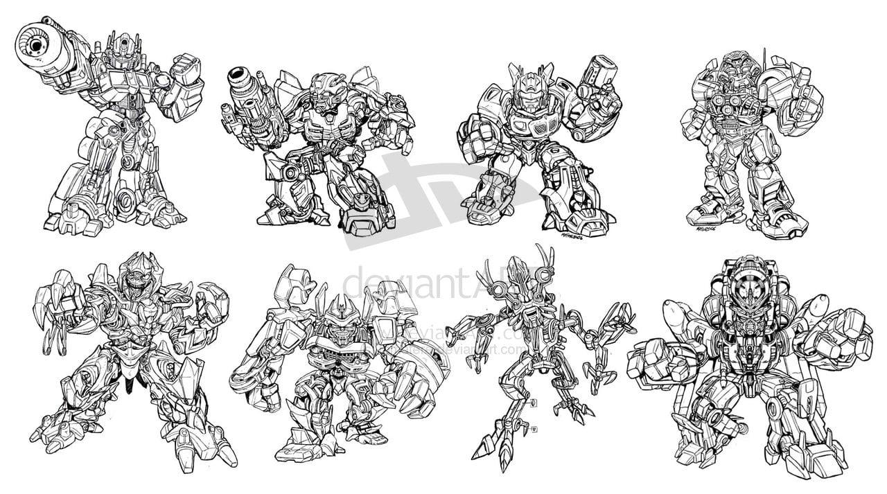Desenhos Para Colorir Transformers