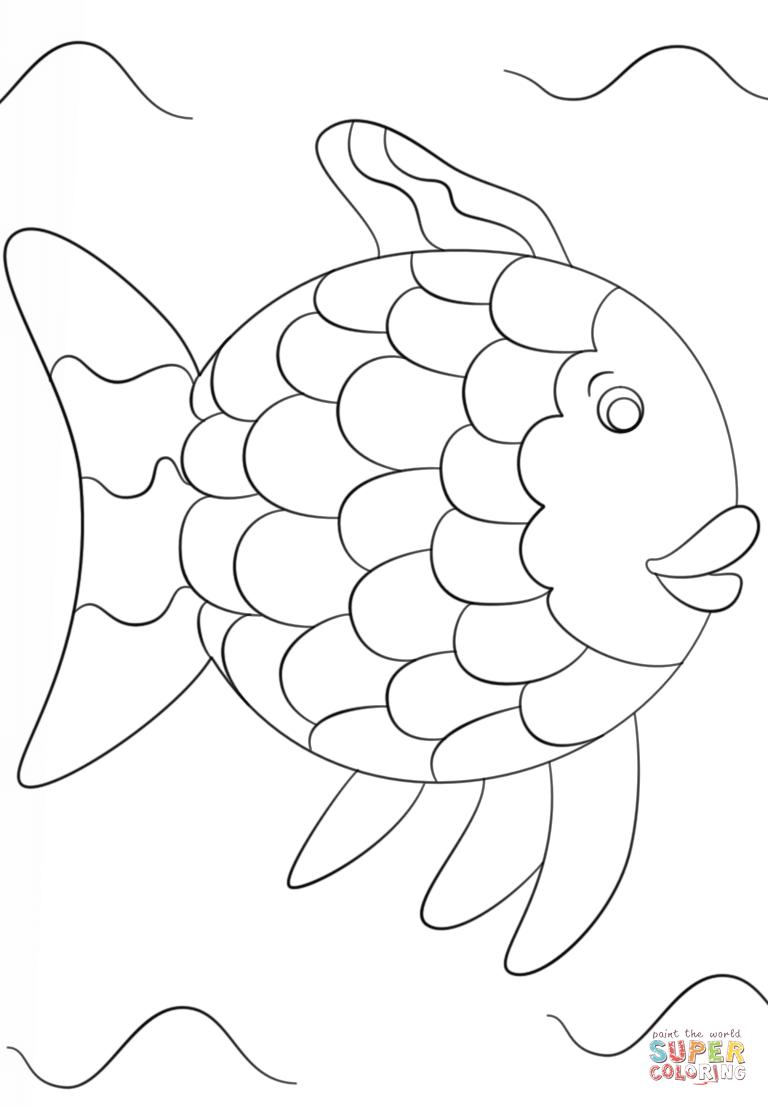 Desenho De Arco Iris Para Imprimir