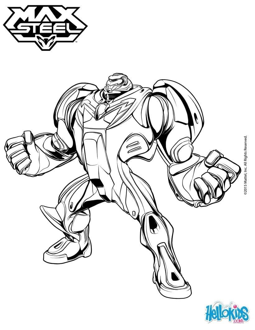 Desenho Max Steel