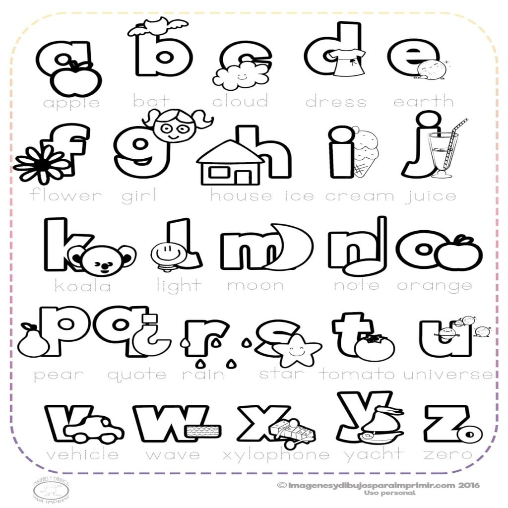 Abc Infantil Para Imprimir
