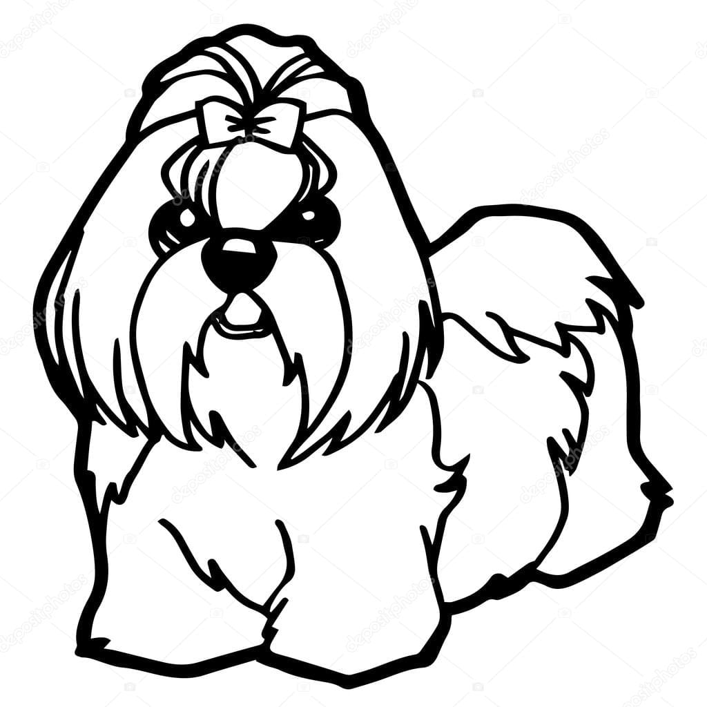 Desenho De Cachorro Para Imprimir