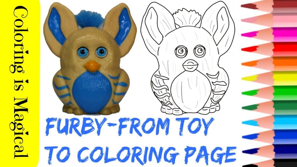 Gratis Kleurplaten Furby.Furby Coloring Coloring Pages Printable Coloring Coloring Pages