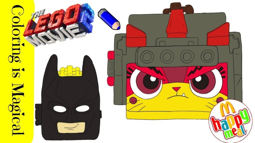 Kids-n-fun.com | 13 coloring pages of Lego movie 2 | 576x1024