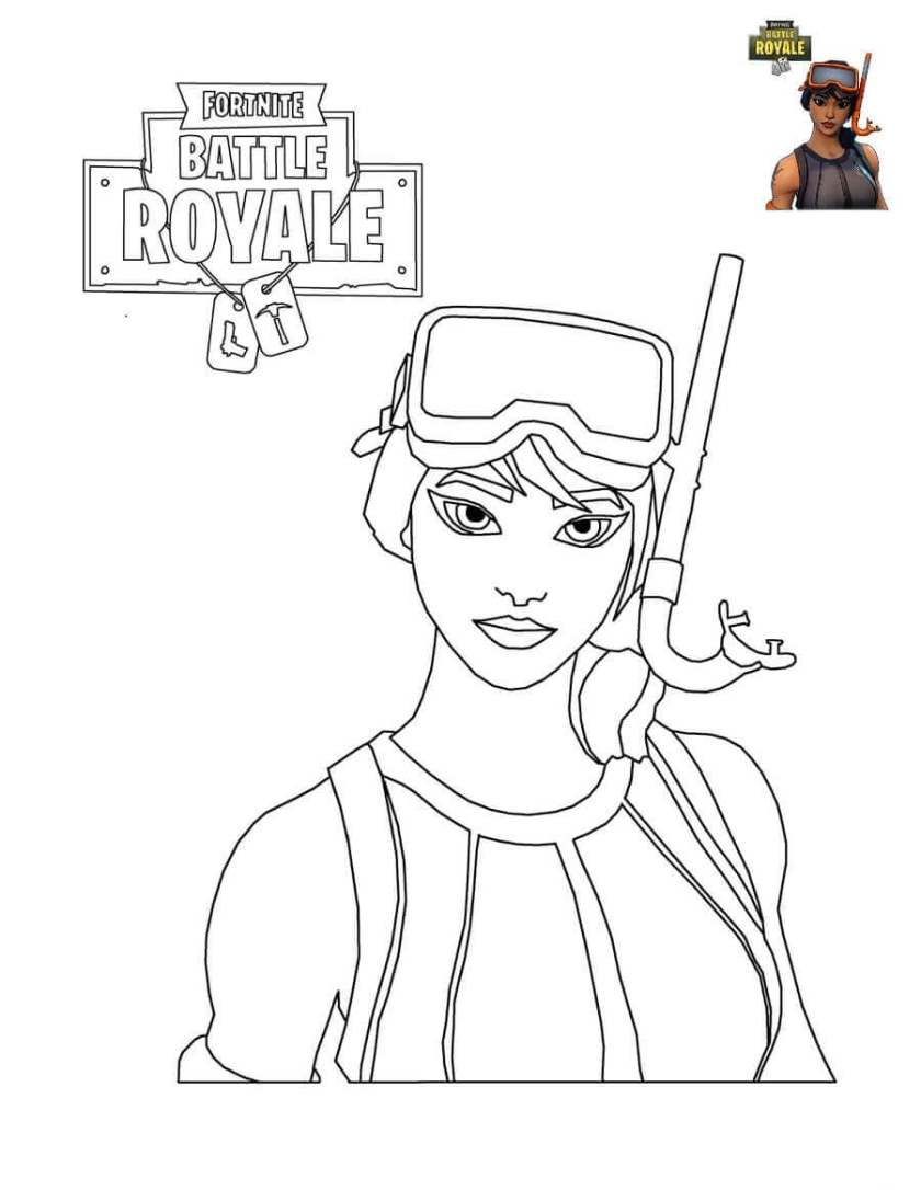 free printable fortnite coloring pages  coloring junction