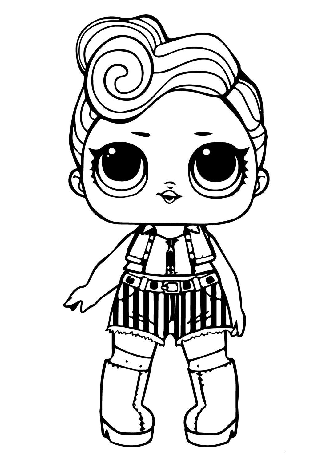 Doll Lol Coloring Sheets Baby