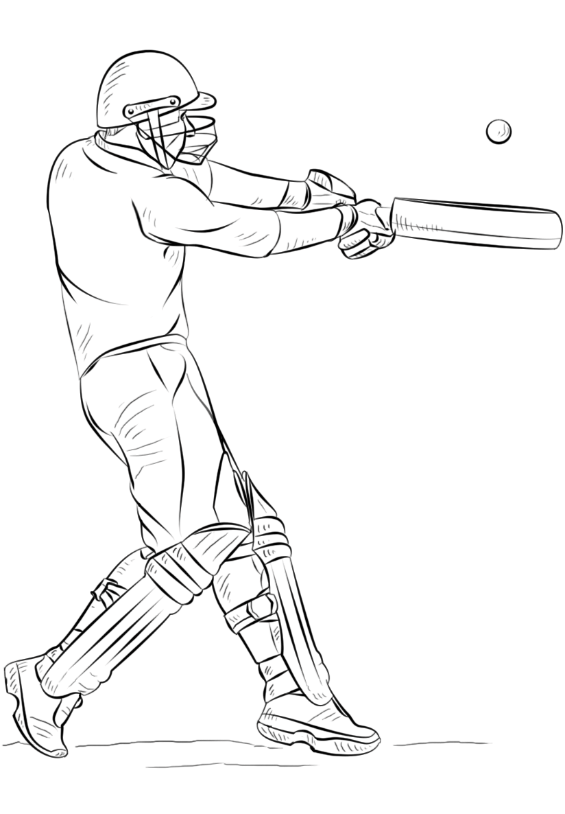 Cricket Coloring Lesson | Kids Coloring Page