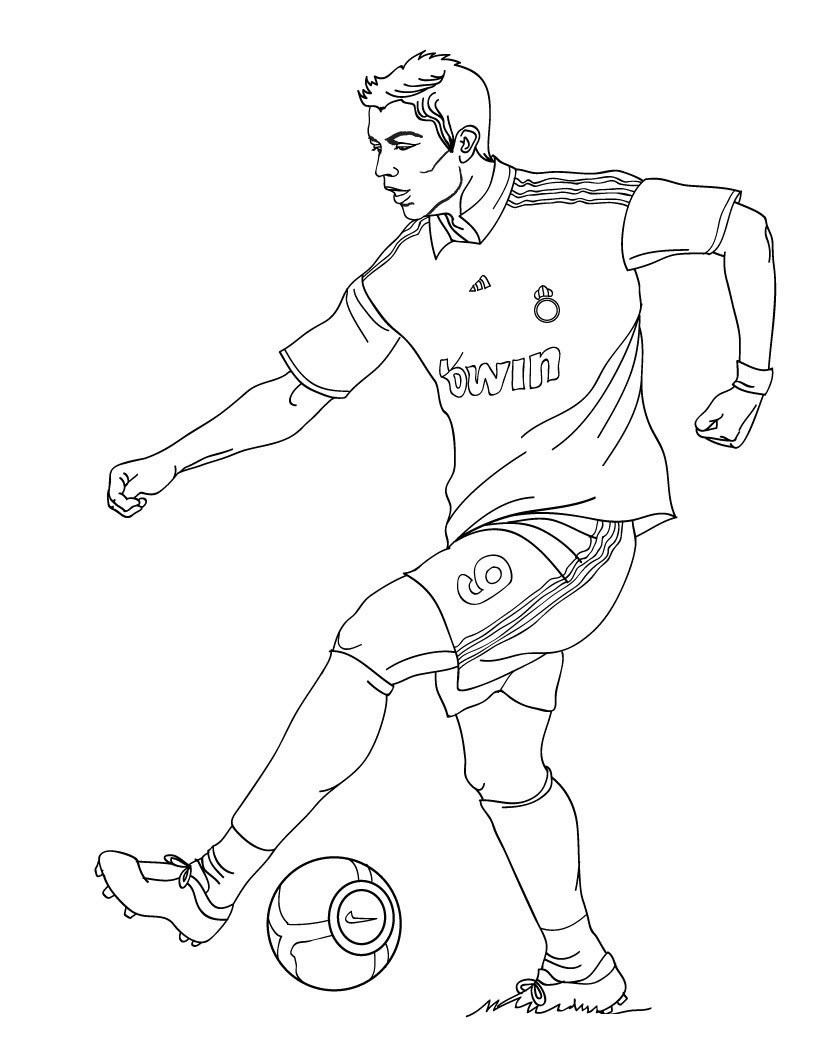 Sports – Page 3 – Coloring Lesson