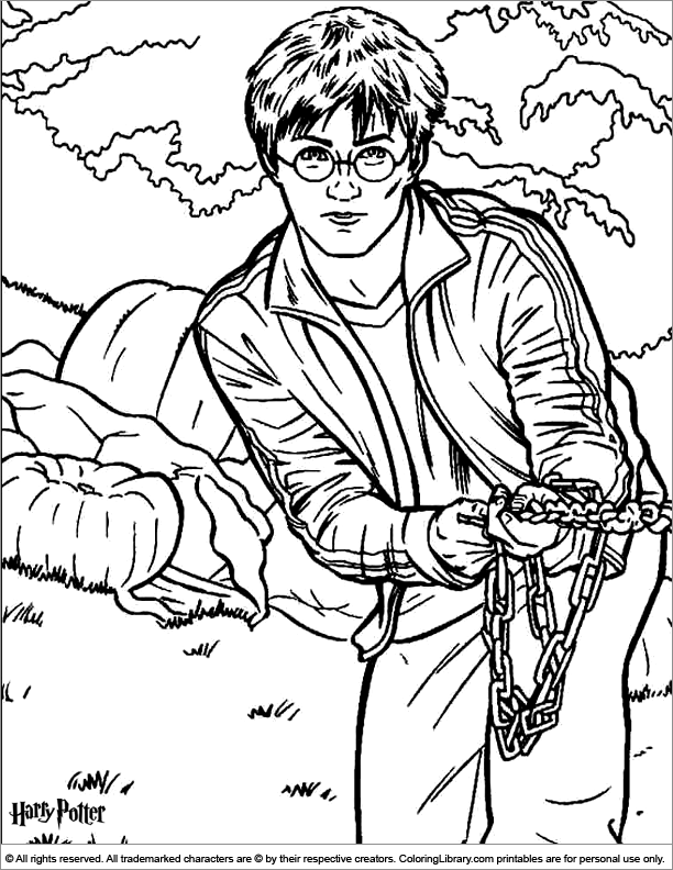 Coloring Pages Harry Potter Deathly Hallows Symbol Sketch