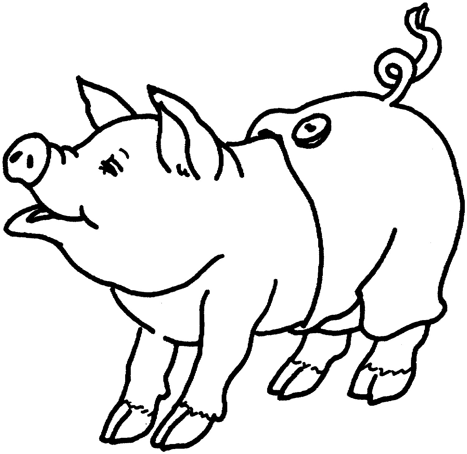 Piggy Coloring Pages