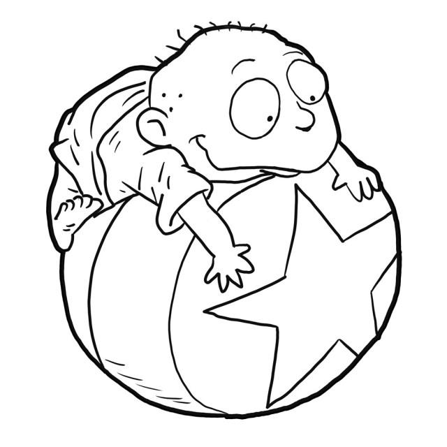 Printable Rugrats Coloring Pages  ColoringMe.com