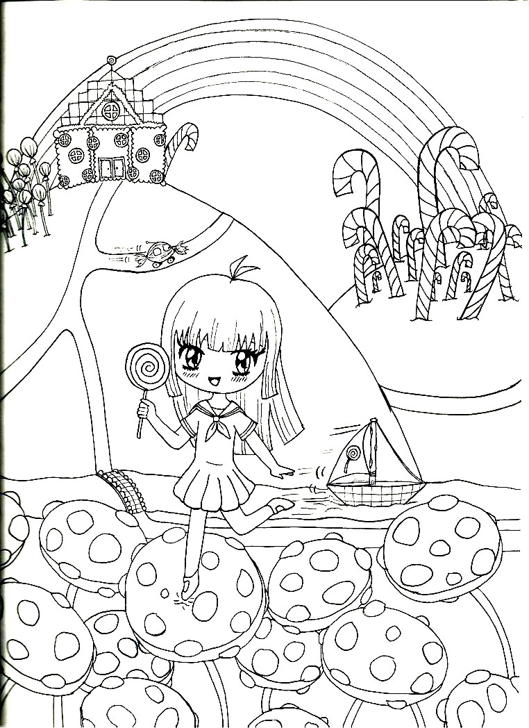 candyland board game coloring sheets coloring pages